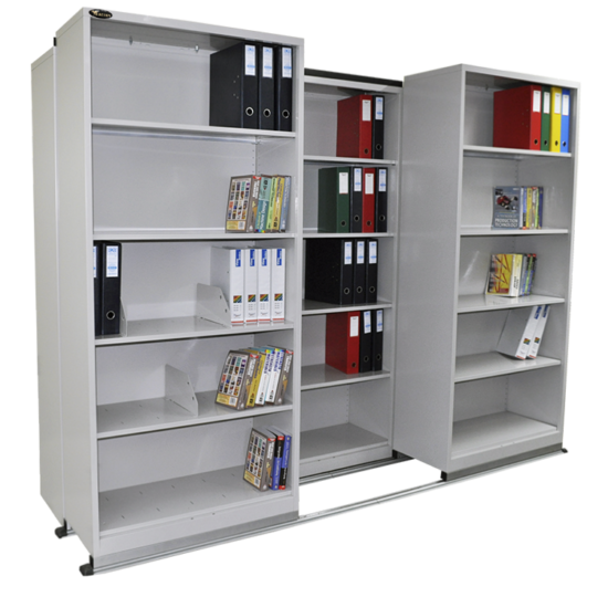 Lateral Compactor- Shelving-1